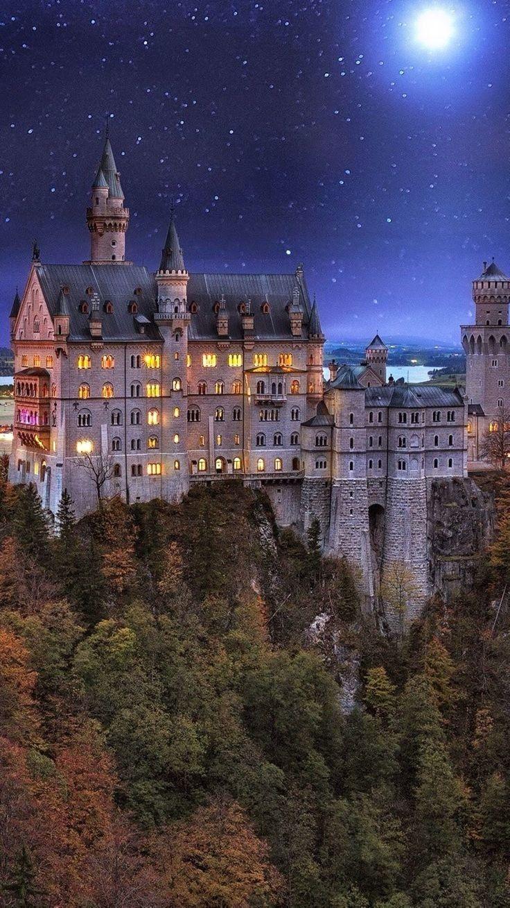 Neuschwanstein Castle Bavaria Germany Neuschwanstein Castle Germany Castles Castle
