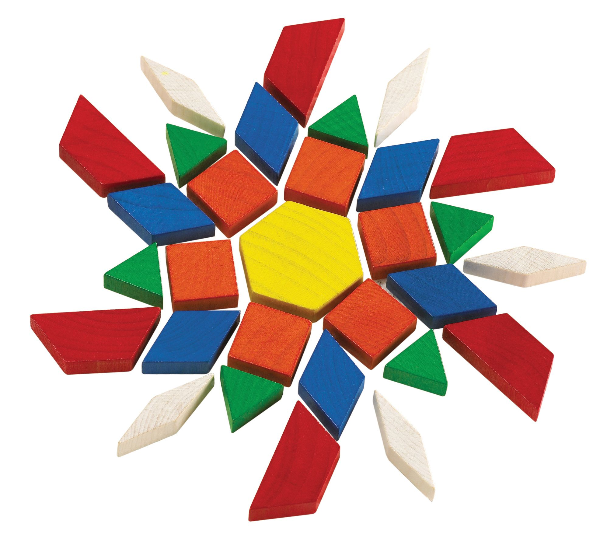 Pattern Blocks for children with Autism Spectrum Disorder