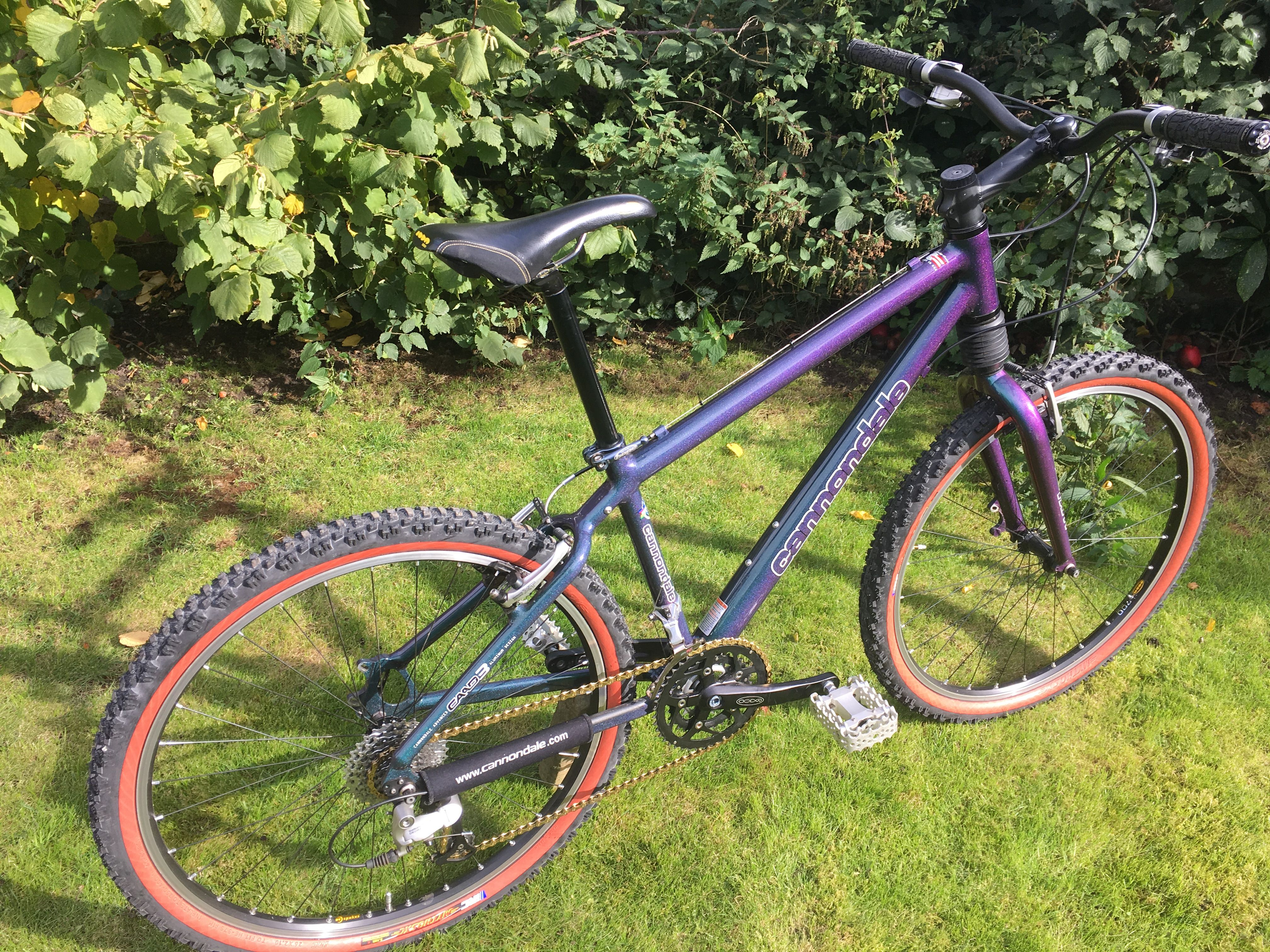 f403e94cb6c chromalusion purpleen | Vintage Cannondale Community | Dream Bike ...