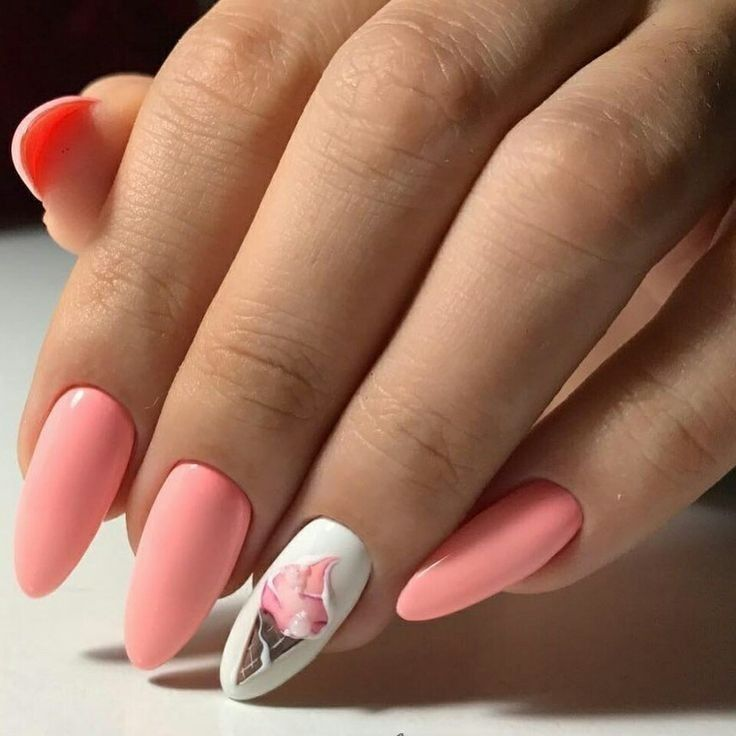 35 Most Popular Nail Art Designs for Summer 2019 is part of Natural nails American Posts - Mis any pastel colors you want and you'll get a cute summer manicure  If you wish to have pretty nails, a mix of neon pink with black will appear stunning  You're able to try though using the respective colors in order to give it an ideal tropical appearance  Nail art designs are likewise a good method to bring just a little something extra to your summer style too