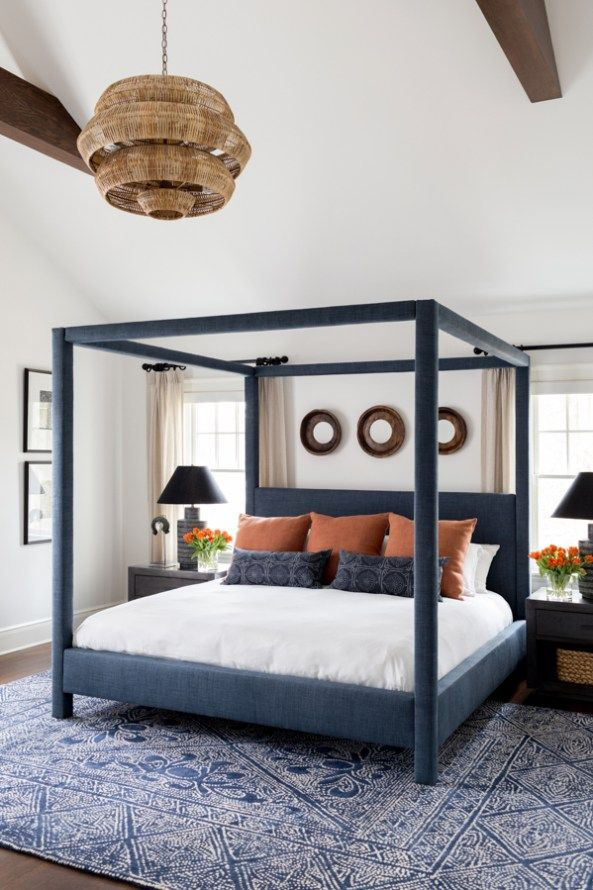 Layering Rugs Under Beds Home Decor Bedroom Modern Bedroom