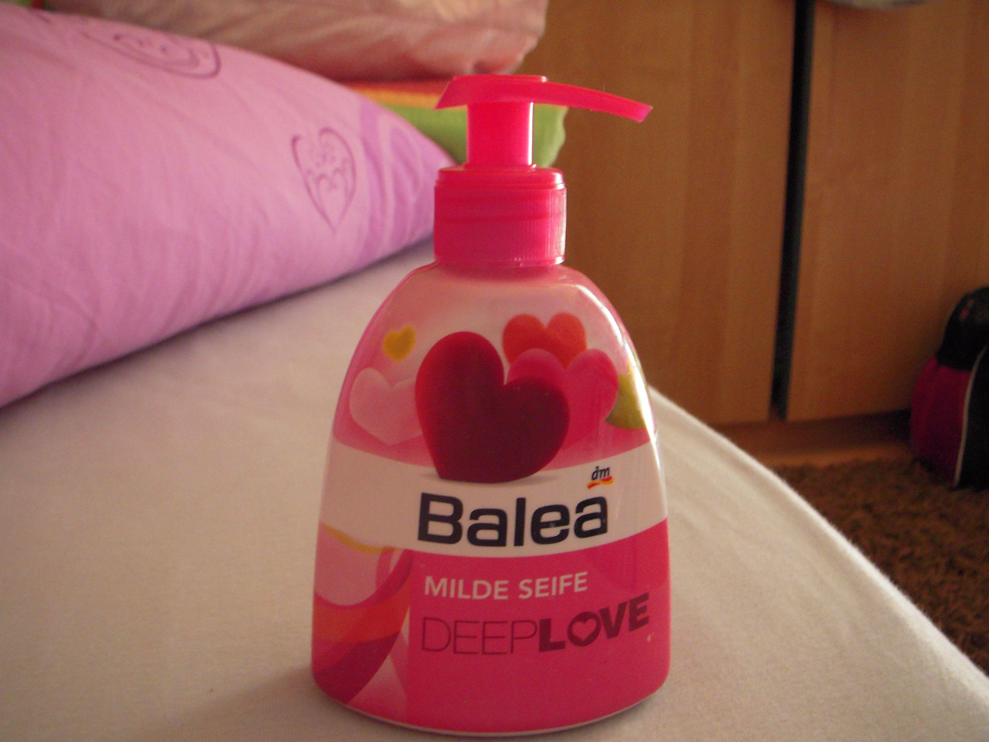 Balea Milde Seife Deep Love Schminktipps Kosmetik Und Beauty