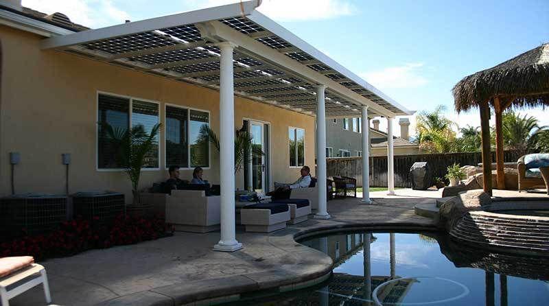 Solar Patio Covers   Utah Solar Power Installer