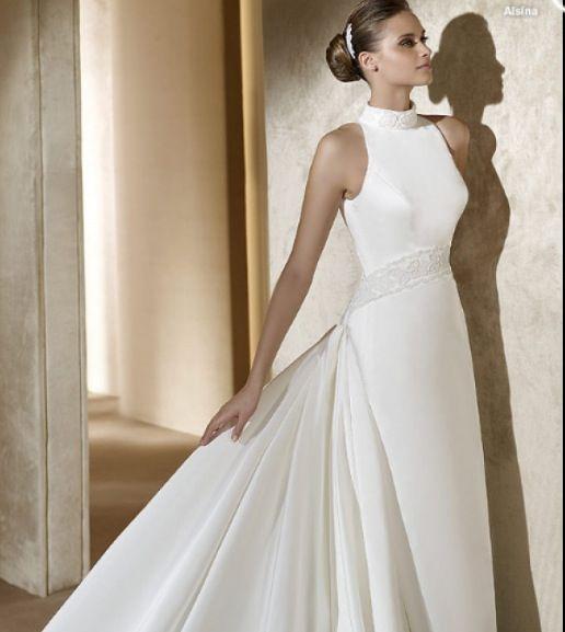 Elegant Turtleneck Wedding Dress Not Nearly As Pretty As Jennifer