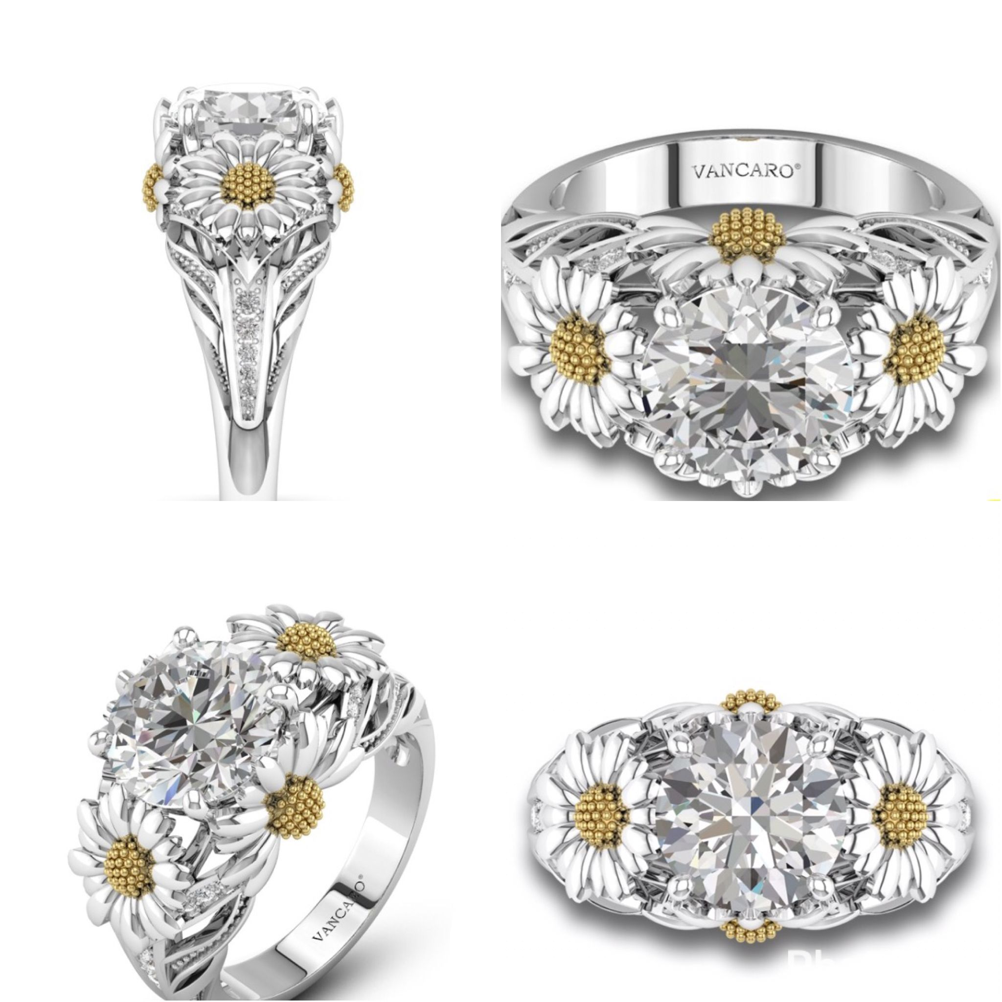 Beautiful Vancaro Ring This Only With A Yellow Stone In The Middle I Want It: Vancaro Wedding Bands Skulls At Websimilar.org