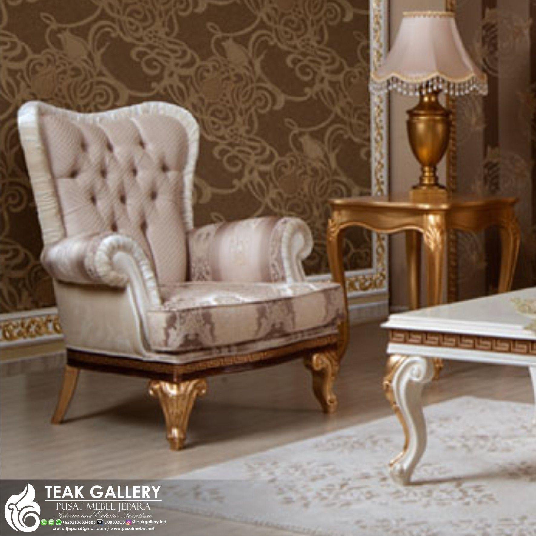 Sofa tamu royal koltuk mewah modern 1 set sofa tamu furniture jepara harga