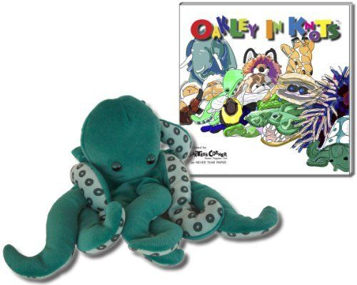 "Bundle - 2 Items, Value Priced: Folkmanis 13"" Span Octopus Plush Hand Puppet 2040 and Baxter's Corner Picturebook Story ""Oakley in Knots"" ISBN: 978-1938647000 - from the Oakley the Octopus Series of Illustrated Books, Original Art and Matching Products by Baxter's Corner: Coordinated Art, Books + Puppets for Kids!, http://www.amazon.com/dp/B00AZ37HW6/ref=cm_sw_r_pi_dp_O2ygsb0DCTRPC"