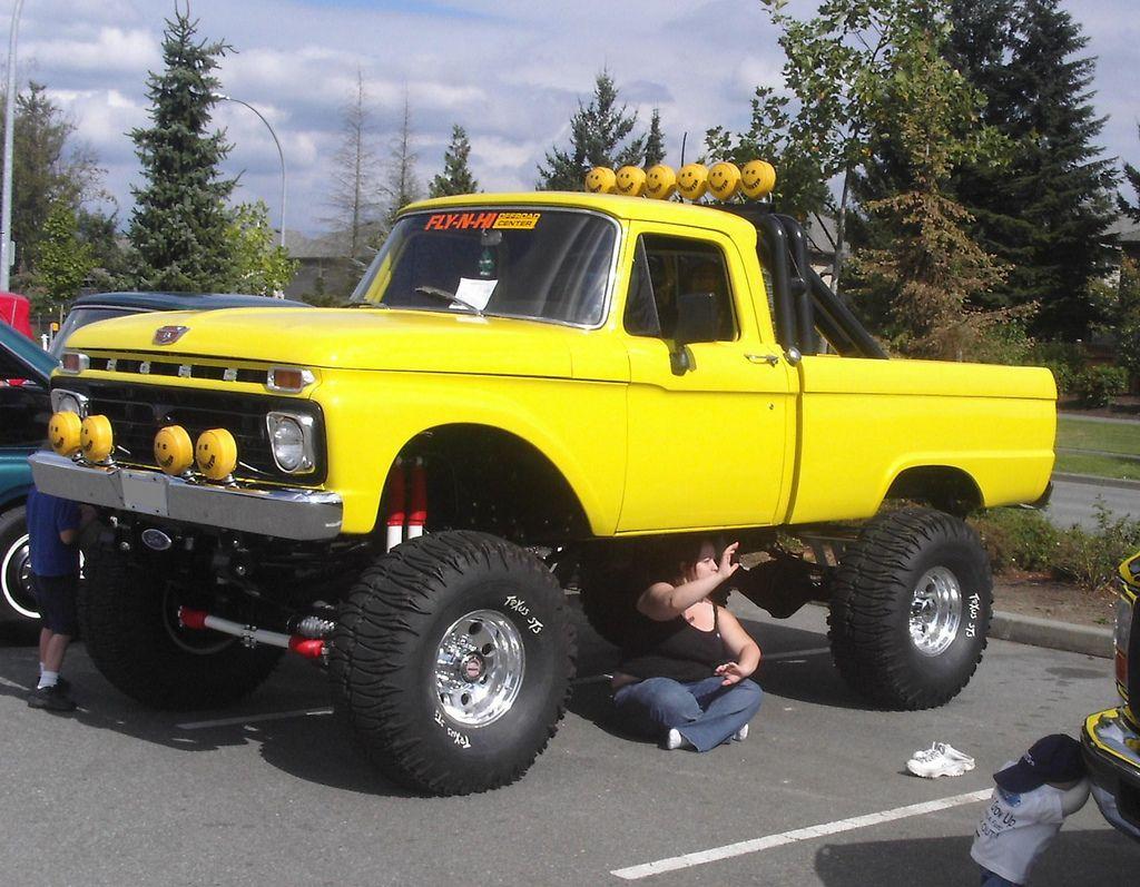 1966 Ford F-100 4x4 pickup truck | Camionetas ford ...1956 Ford F100 Lifted
