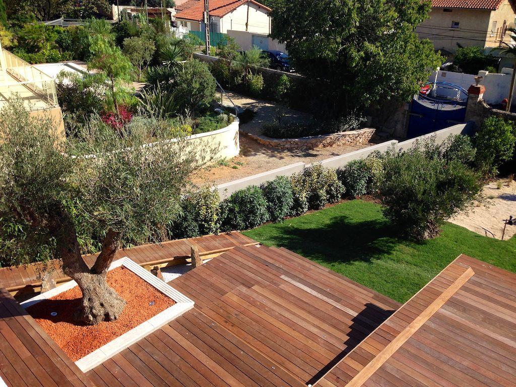 Terrasse Et Olivier Jardin Pinterest Olivier Terrasses Et  # Abris De Jardin Herault