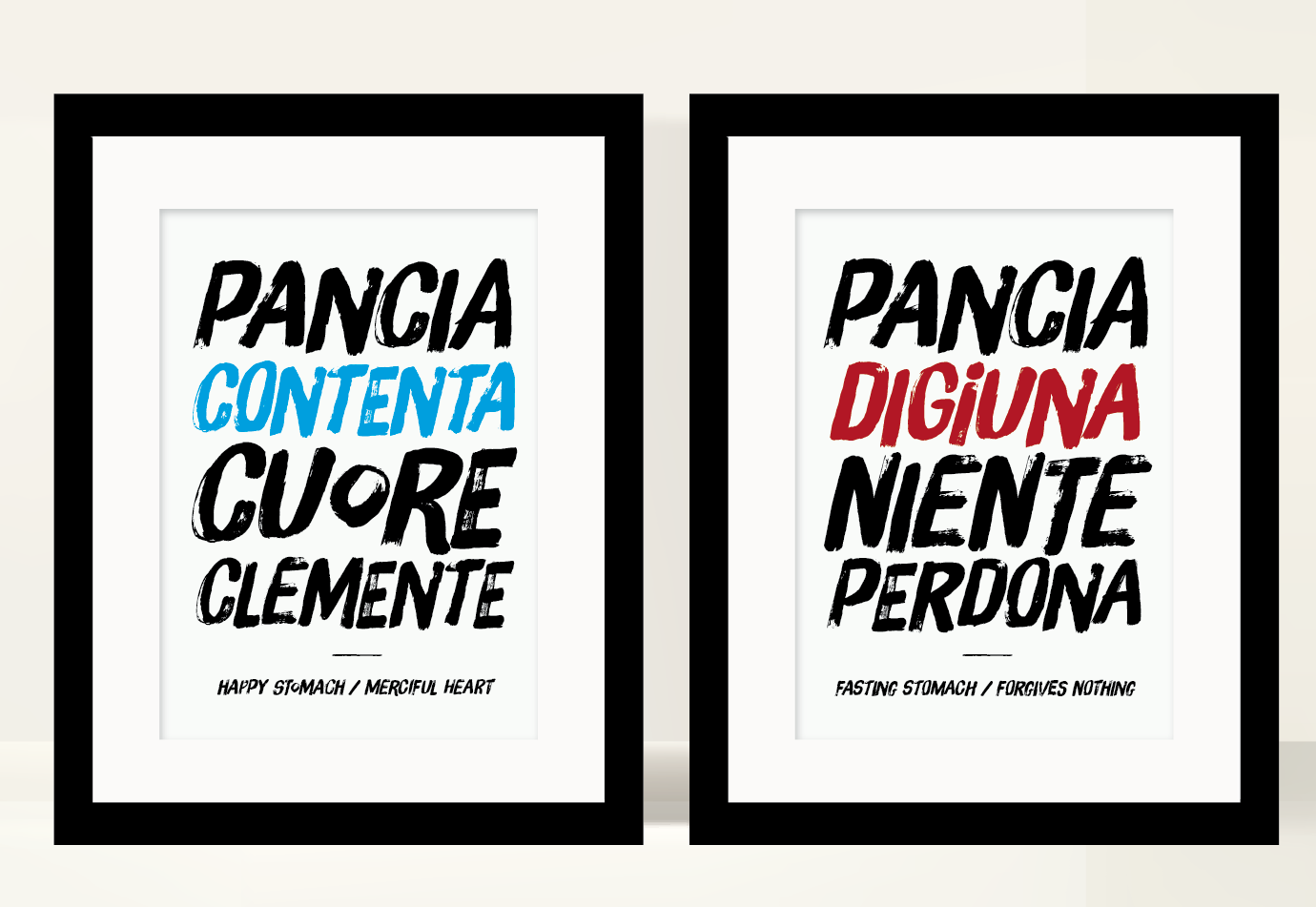 Kitchen poster, italian quote #art #print #poster #typography ...