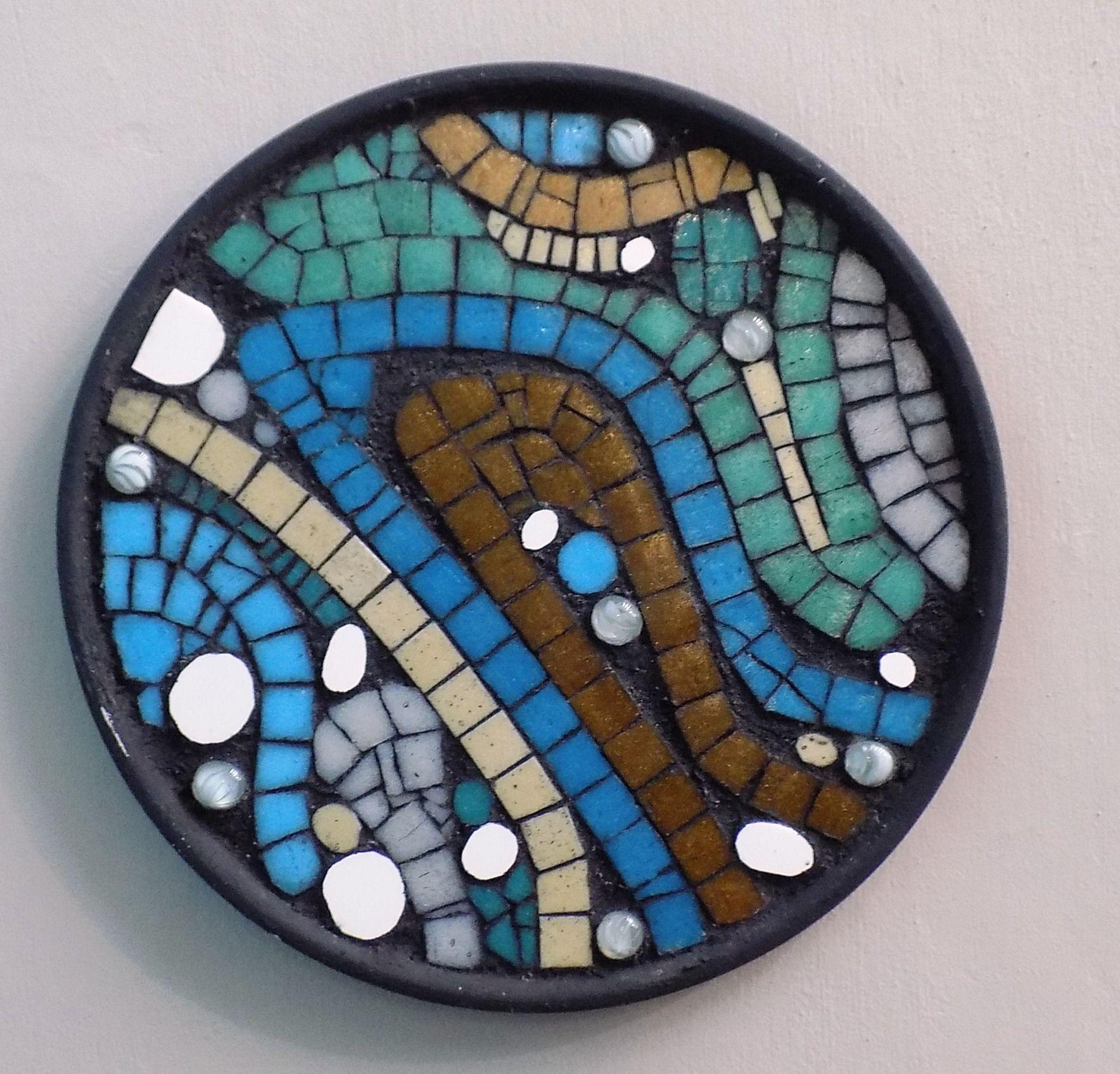 Cuadritos mosaico para exterior con marcos de aluminio ...