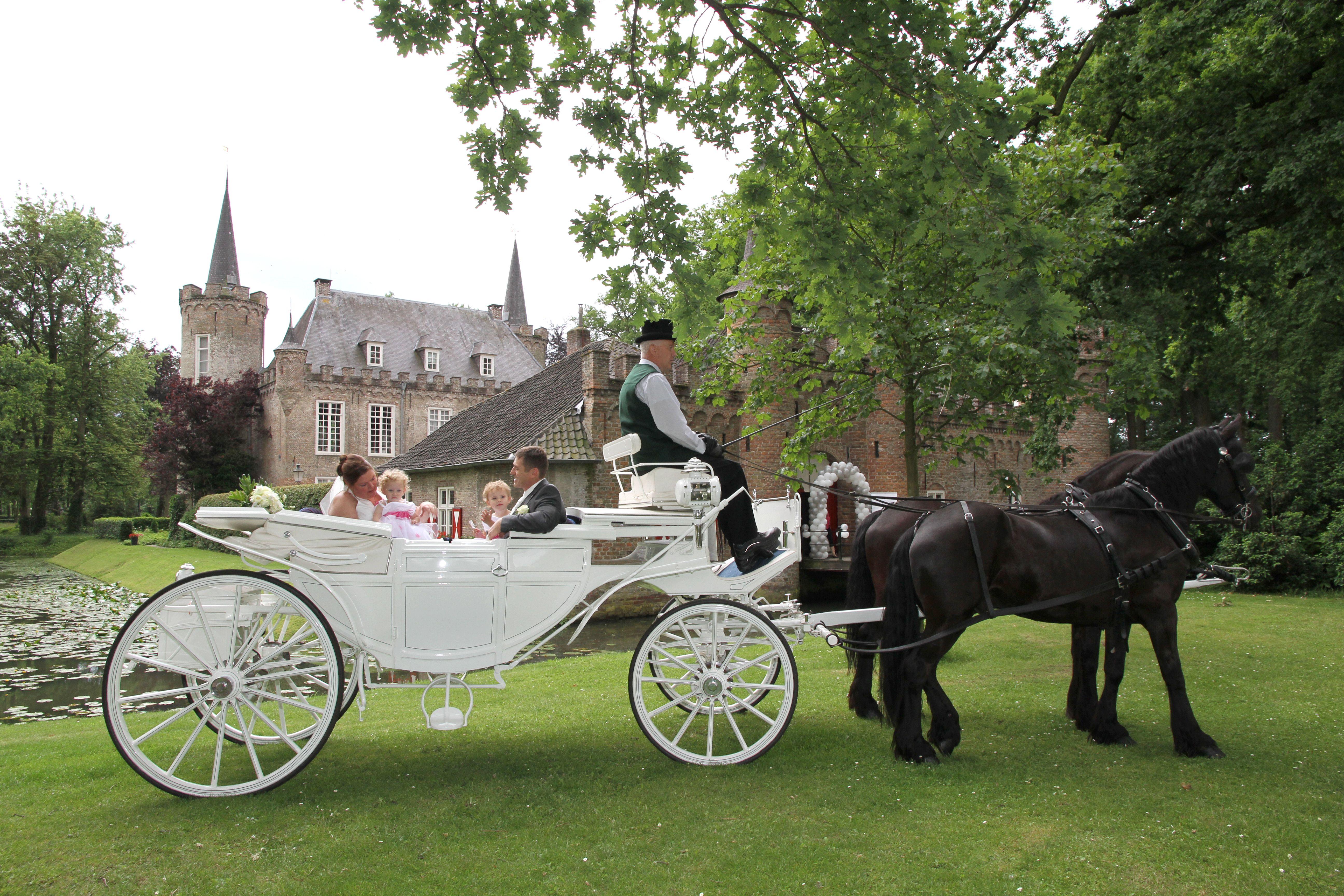 koets bruiloft