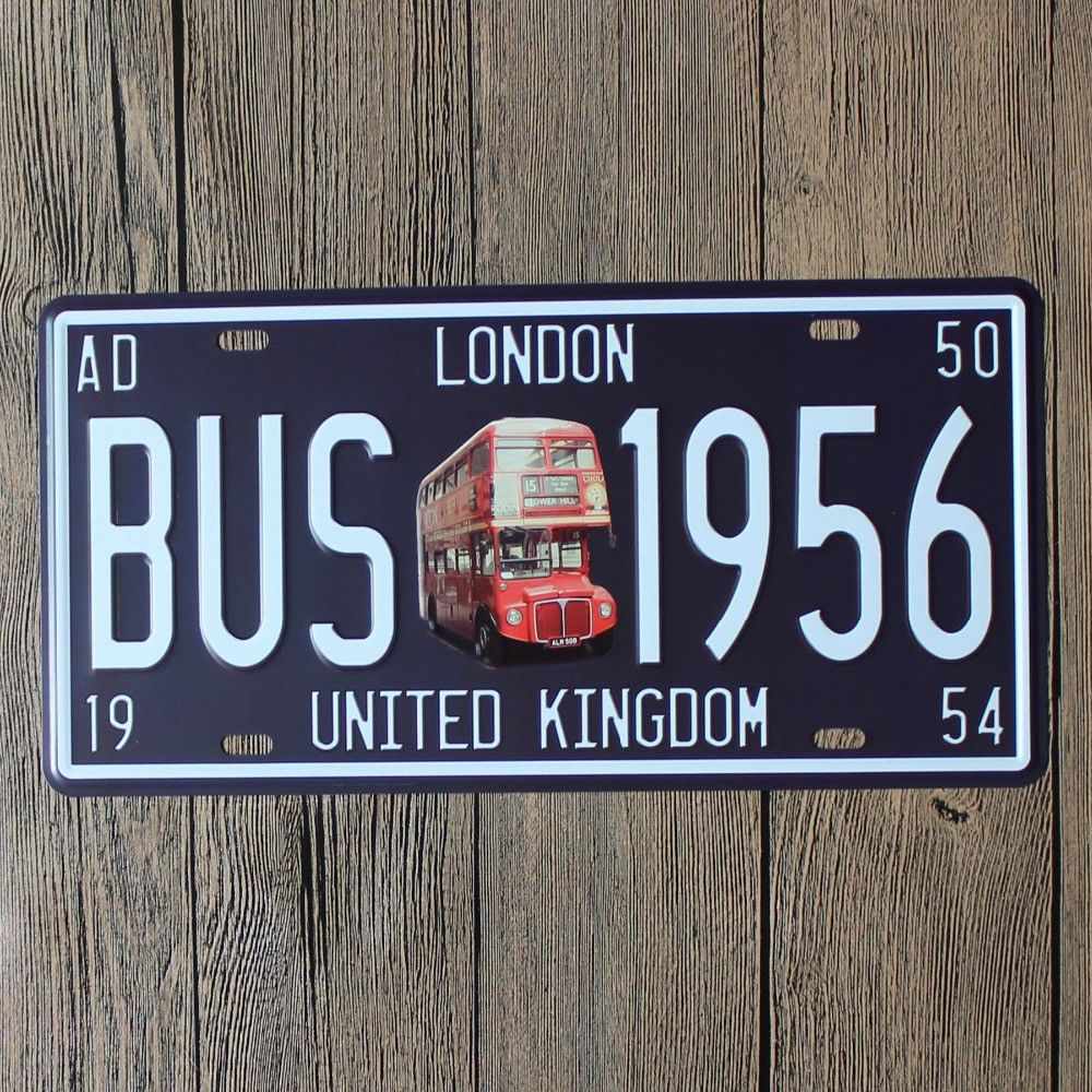 Decorative Signs For The Home Prepossessing London Street Signs Home Decorations Metal Wall Art Retro Metal Design Inspiration