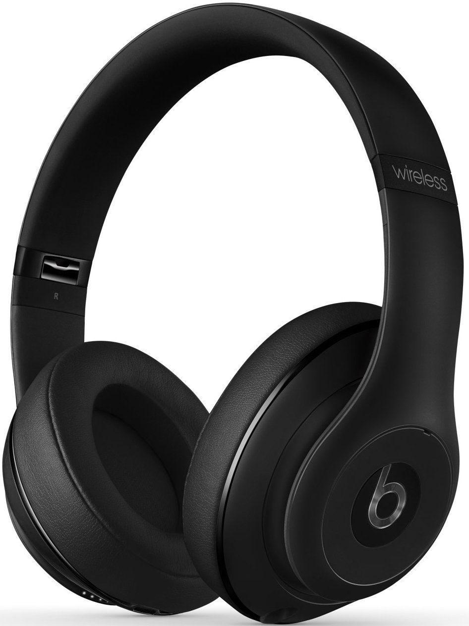 Beats by Dr. Dre Studio 2.0 Wireless Over-Ear Headphones with RemoteTalk Cable (Matte Black)