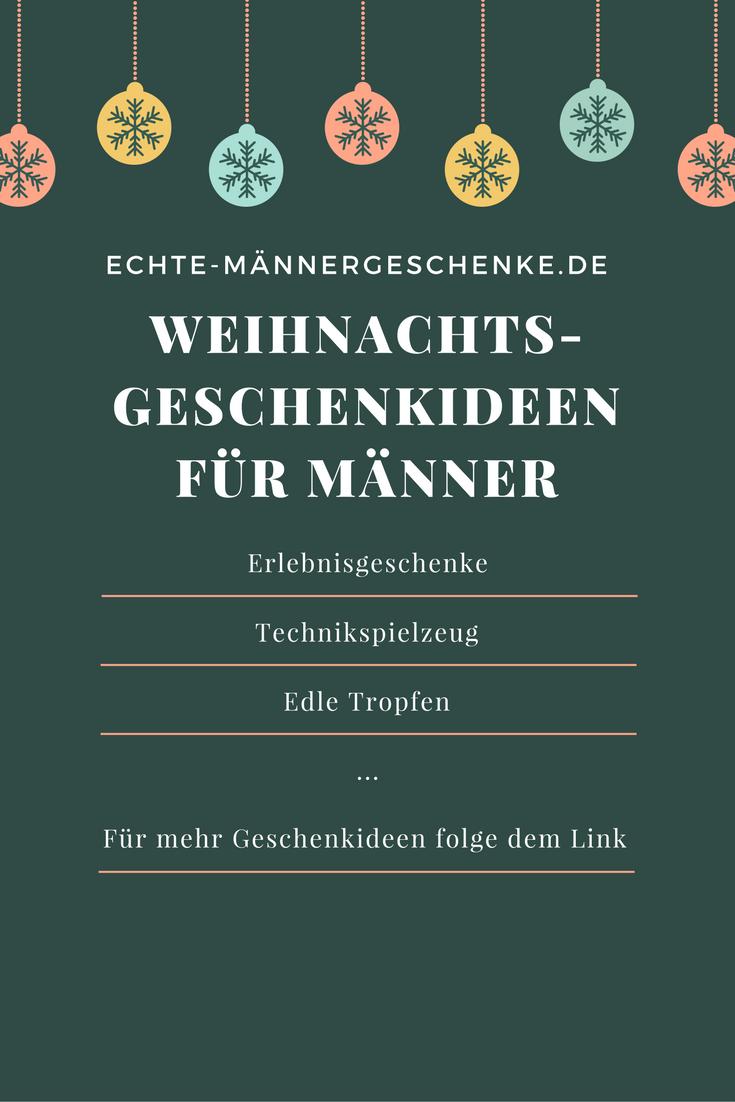 Weihnachtsgeschenkideen für Männer auf Echte-Maennergeschenke.de ...