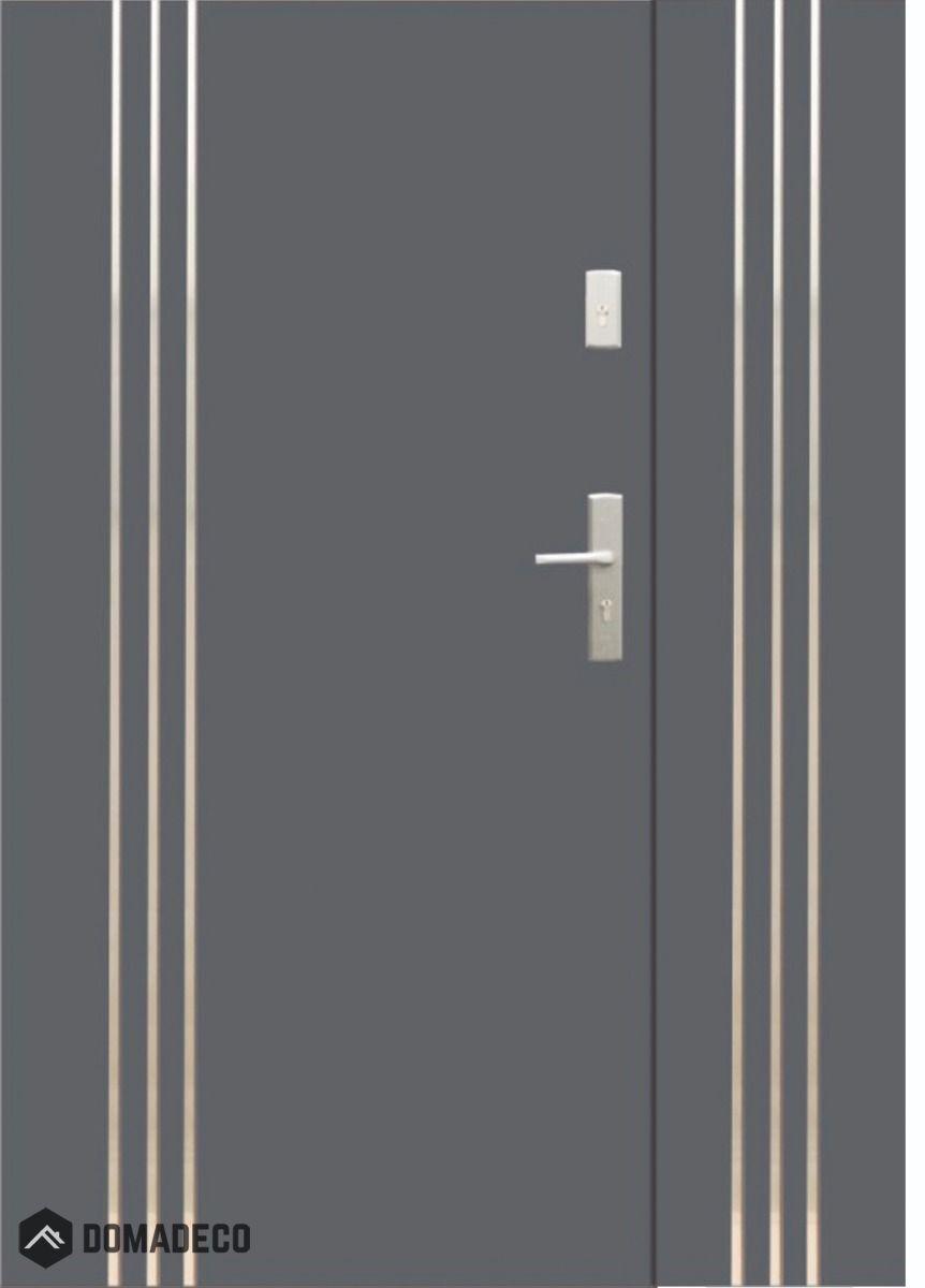 Fargo 32b Db Entrance Door With Side Panels Doors Interior Modern Doors Interior Double Glazed Front Doors
