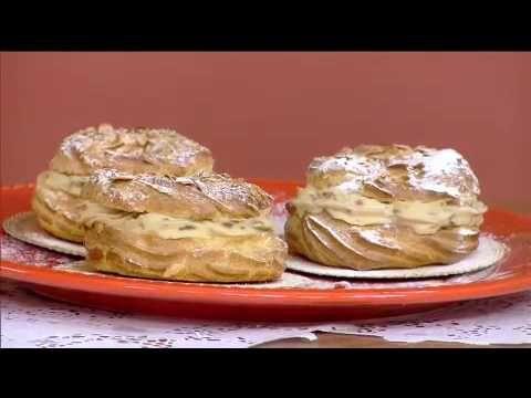 Paris Brest Receita Bake Off Brasil Youtube Culinaria Bolo