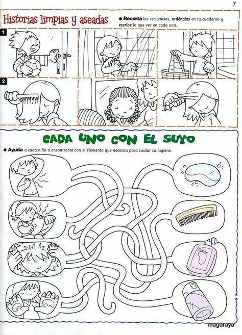 Resultado De Imagen Para Habitos De Higiene Para Niños De