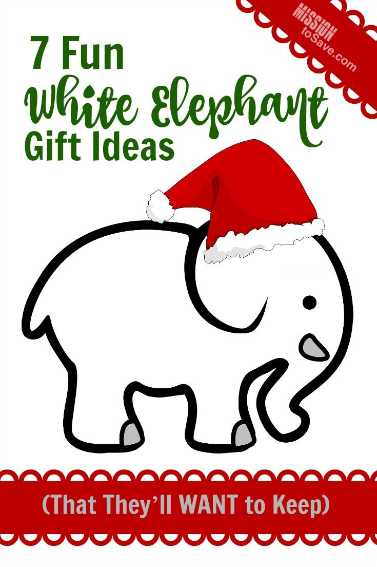 7 Fun White Elephant Gift Ideas (That They\'ll WANT to Keep) | Food ...