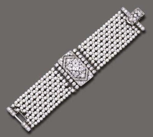 Bracelet  Cartier, 1930