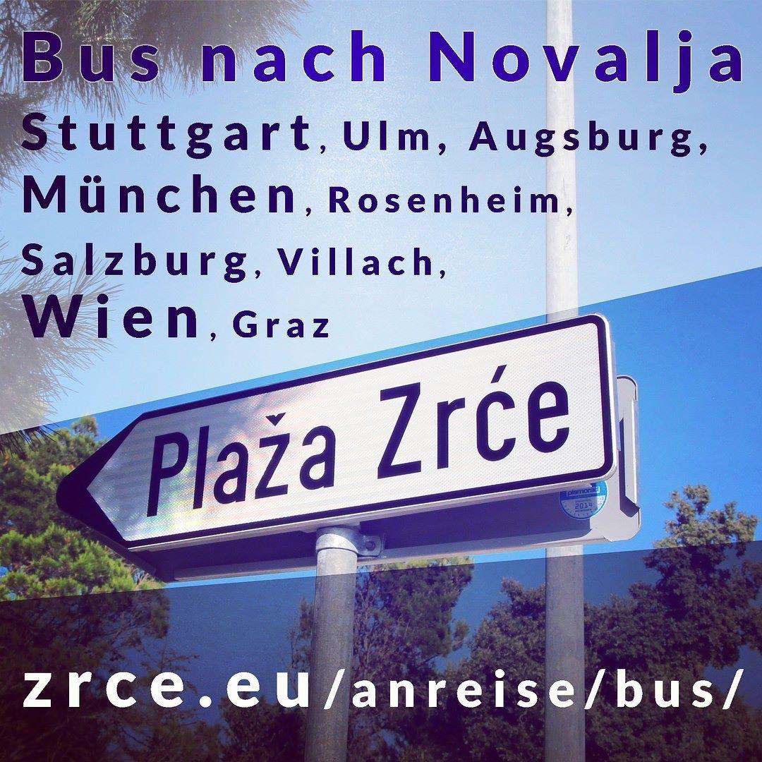 Bus Nach Novalja Strecke 1 Stuttgart Ulm Augsburg