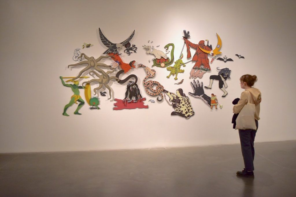 Installation view of Anupam Roy, \