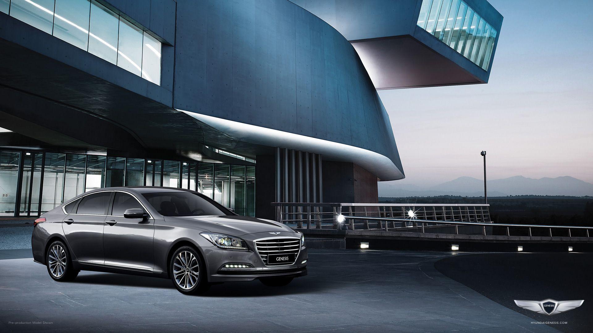 2015 Hyundai Genesis in Parisian Gray. #NextGenesis