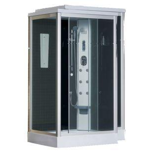 Sensi d 39 acqua cabina de ducha con hidromasaje musical for Cabinas de ducha economicas