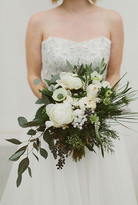 Wedding Flowers Bouquets Natural Bouquet Wedding Loose Bouquet Organic Wedding