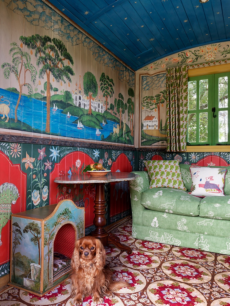 Kit Kemp Unveils Her Charming Shepherd S Hut Shepherds Hut Fairytale Cottage Design