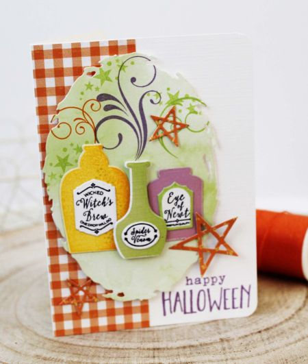 Happy Halloween Card By Melissa Phillips For Papertrey Ink (August 2017)