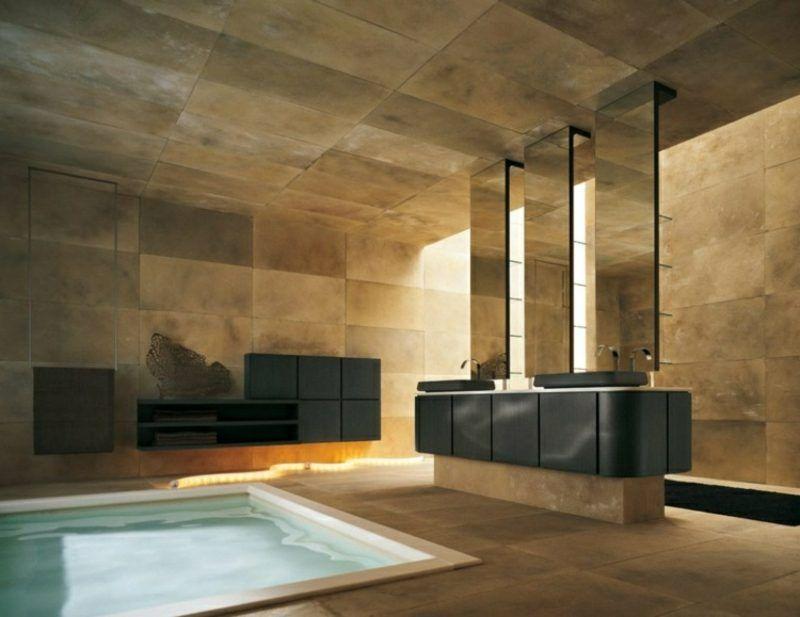 Luxus Badezimmer – 49 inspirierende Einrichtungsideen ...