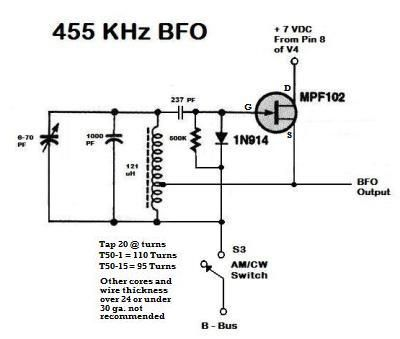BFO mod for Hallicrafters S-38D. | HAM STUFF in 2019 | Ham ... Hallicrafters S Schematic on