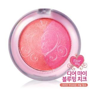 Etude House Dear My Blooming Cheek - #OR202 Coral Pink by Etude House. $11.89. 2. Cute Expression : Apply B toon to apple zone and overlap sith A coverage.. A: Highlighter / B: Blush. 3. Customized Expression : Blend A & B tones to liking and apply to cheek.. 1. Face Slimming Expression : Apply B tone to cheek at an angle. Apply A to upper cheek by partially overlapping B coverage.. Dual Highlighter and blush tones supply smooth shimmer and vivid color to reflect a ...