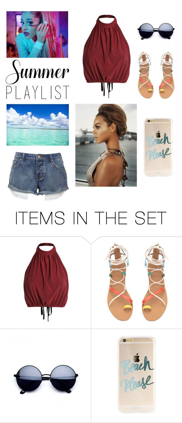 """Summer Vibe"" by frostedbeauty ❤ liked on Polyvore featuring art and Summerplaylist"