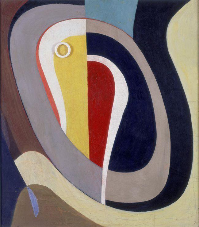 Kurt Schwitters: Ohne Titel (Um den Kern der Sache), 1941