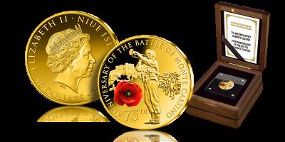 75 Rocznica Bitwy O Monte Cassino Upamietniona Na Oficjalnej Zlotej Monecie Gold Coins Battle Cassino