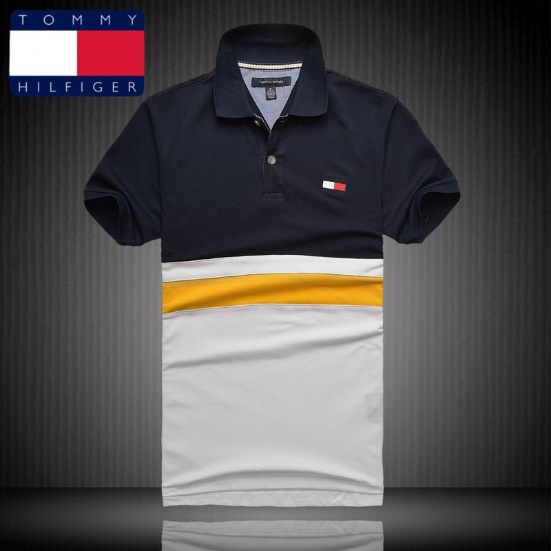 Tommy Hilfiger Polo Shirts Men Short | Tommy hilfiger polo ...