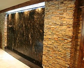 indoor waterfall wall - Google Search | Tenaya | Pinterest | Indoor ...