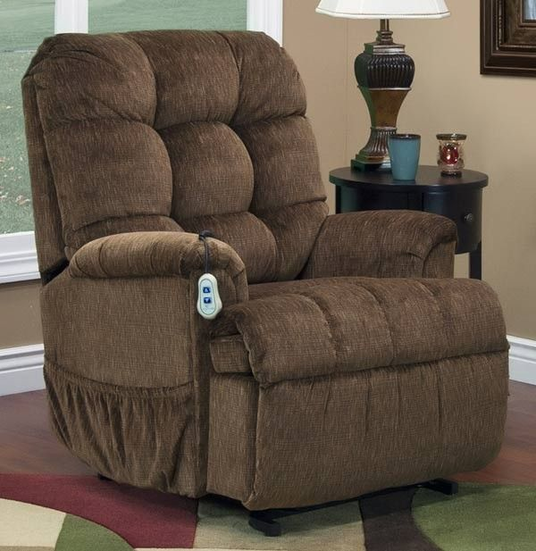 Med Lift Reclining Sleeper Power Lift Chair With Tv Position And Full Chaise Pad Vista Earth Fabric 5555 Ve Fs With Images Lift Chairs Chair Recliner