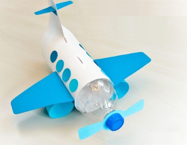 Como Fazer Cofre Infantil em Formato de Avião