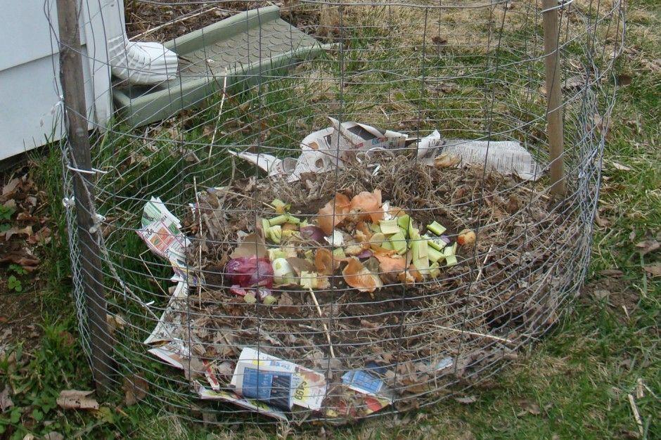 Earth Eats Indiana Public Media Diy Chicken Wire Compost Bin Compost Chicken Diy Compost Bin