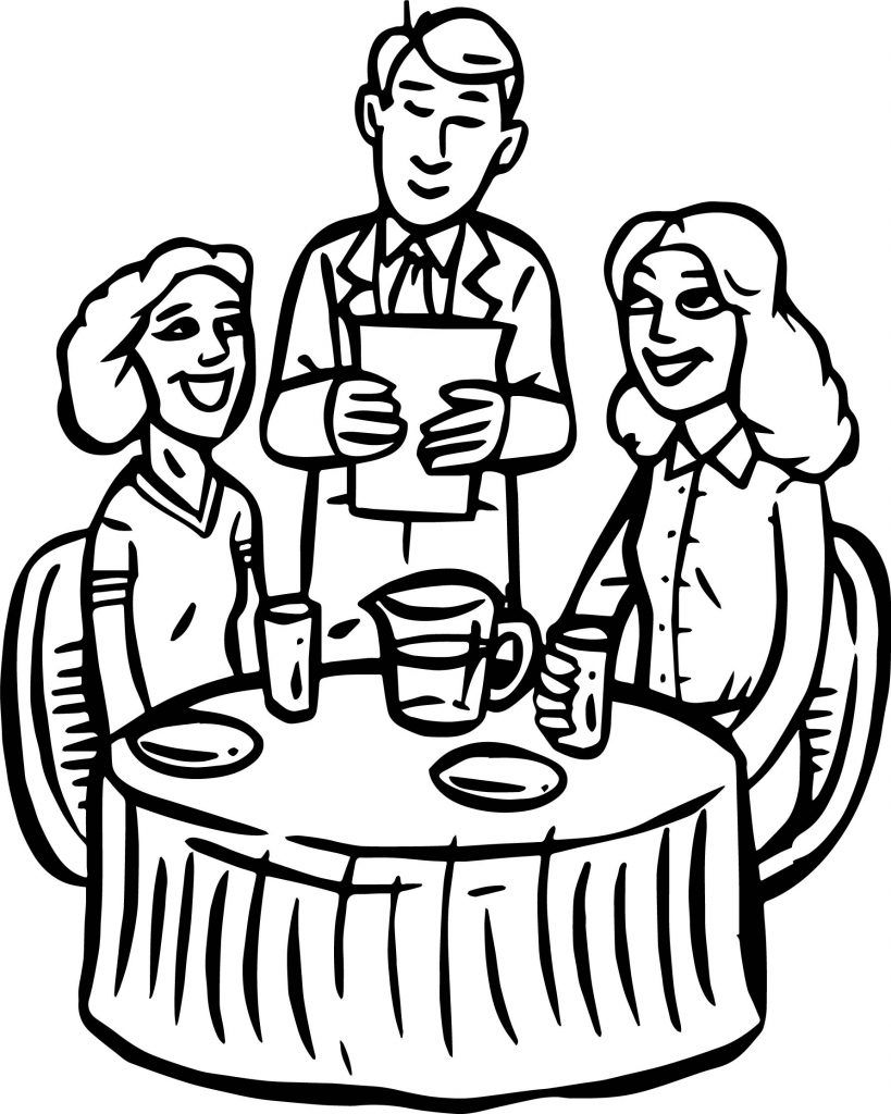 Restaurant Coloring Pages Coloring Pages Coloring Pictures For