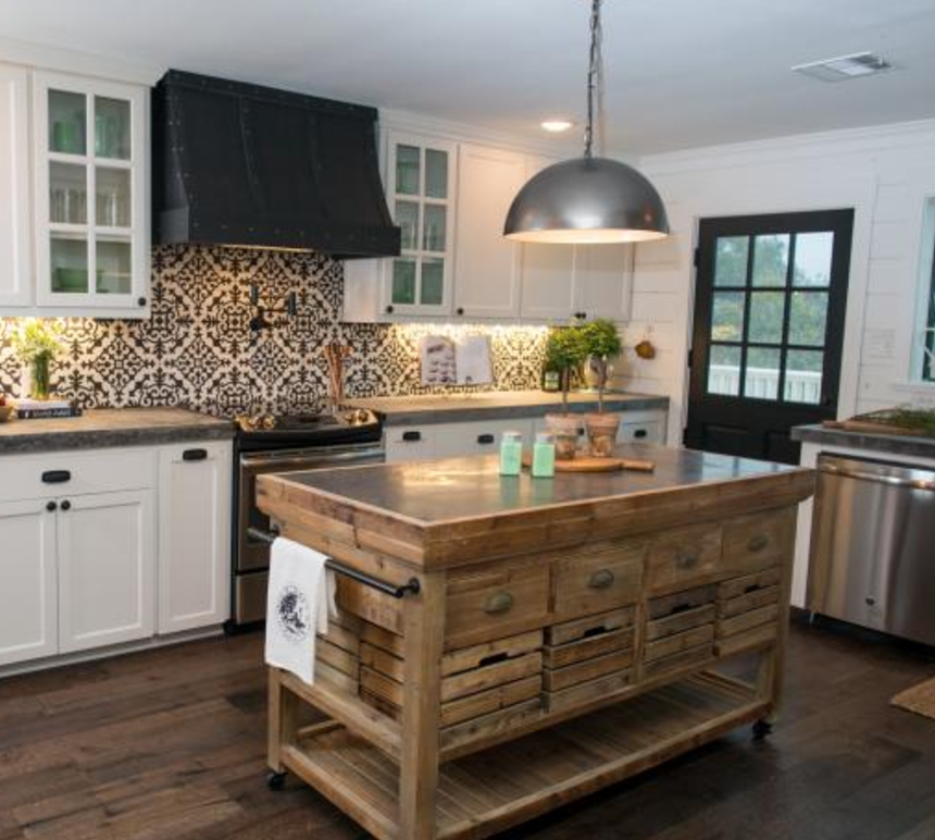 The Dennis Rolling Island | Kitchen in 2019 | Farmhouse ...