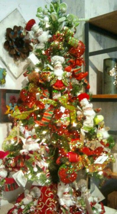 Elf Christmas tree at Twenty Two Fifty in Sugar Land, TX Christmas