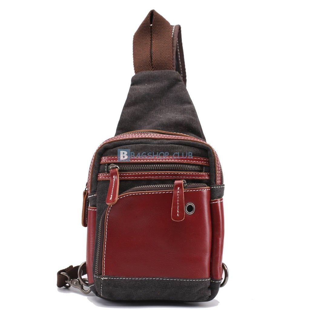 963551041106  55.99 Mens Shoulder Sling Bag Canvas Sling Bag