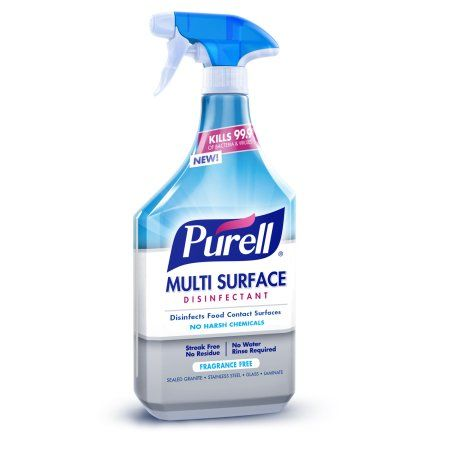 Purell Multi Surface Disinfectant Spray Fragrance Free 28 Fl Oz