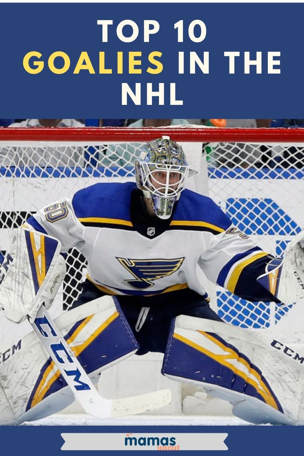 Top 10 Goalies In The Nhl With The Stanley Cup Playoffs Projected To Start In A Little Over A Month Let S Take A Lo