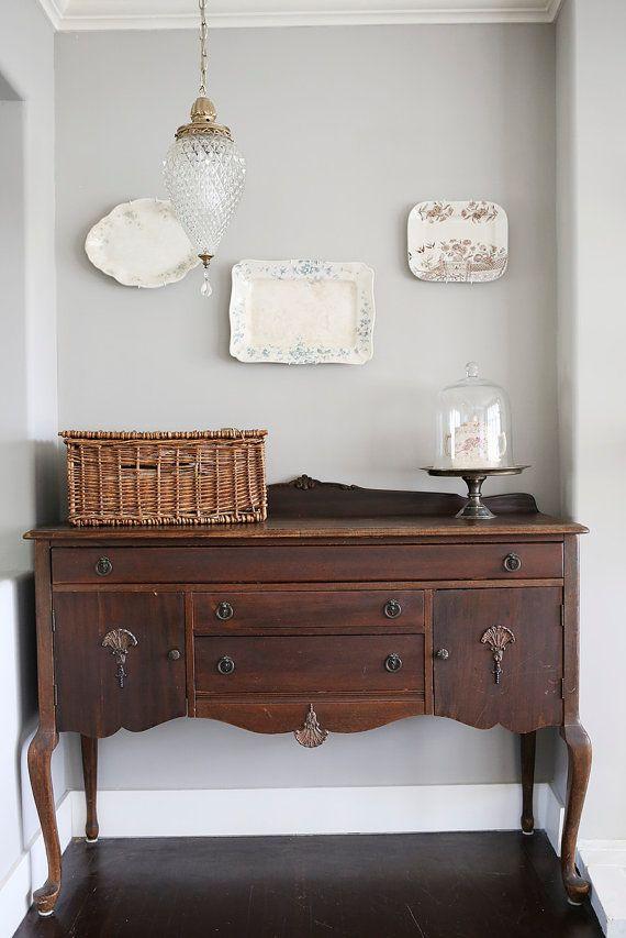 vintage buffet pick up only pinterest commodes campagne chic et antiquaire. Black Bedroom Furniture Sets. Home Design Ideas