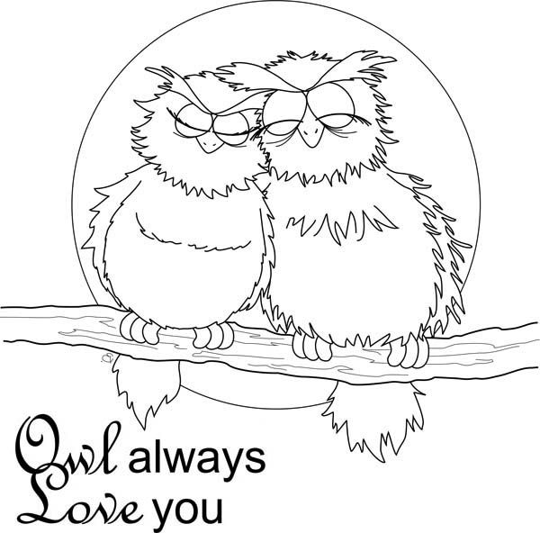 Valentine Coloring Pages Owl Coloring Pages Valentines Day